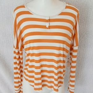 Volcom Ladies Long sleeve striped tee
